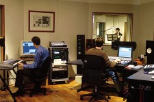 Image of people in recording studio